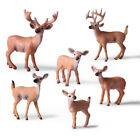 NEW Christmas Doll Deer Figure White-tailed Reindeer Home Party Xmas Ornaments