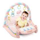 3 in1 Soft Baby Gym Play Mat Fitness Kick Musical Piano Exercise Fun+ Projection