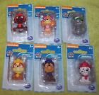 """New Nickeloden Spin Master Paw Patrol Toy Figure Lot of 6 Mini 2"""" NIP"""