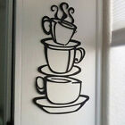 Pretty Kitchen Coffee Cup Wall Stickers Vinyl Decal Mural Ho