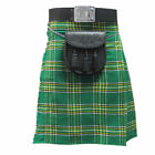Men's Kilts | Tartanista Irish Tartan National St. Patrick Green 5 Yard 10 oz