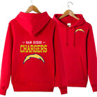 NEW San Diego Chargers fans hoodie hooded pullover coat warm jacket sweatshirts $23.74 USD on eBay