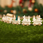 Xmas Wooden Train Kids Favor Christmas Gifts Hanging Ornament Tree Decorations