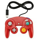 6 X GameCube NGC GC Wii Controller Dual analog Wired Shock Game Pad For Nintendo