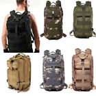Mens Combat Backpack Rucksacks Tactical Camping Hiking Bags Outdoor HOT