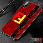 Hot 9FENDI77 Red Style Cover iPhone 6 7 8 X XR XS Max Samsung Galaxy S7 8 9 Case