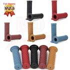 "7/8"" 22mm Rubber Handlebar Hand Grips Bar End For Motorcycle Bike Cafe Racer ATV $8.5 USD on eBay"