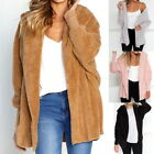 Woman Winter Comfortable Hooded Hat Blouse Lady Sweater Warm Casual Coat Outwear
