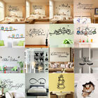 Quote Wall Stickers Decal Vinyl Art Home Room DIY Decor Bedroom Removable Mural