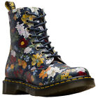 Dr.Martens 1460 Pascal Darcy Floral Leather Combat Ankle Womens Boots