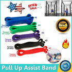 Latex Resistance Streching Band - Pull Up Assist Bands Extra Light Medium Heavy image