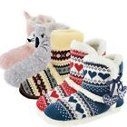 LADIES SLIPPER BOOTS  FAUX FUR LINED