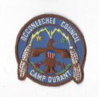 1960s Camp Durant Patch Occoneechee Council Raliegh, NC [LMTC1522]