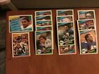1984 Topps Team Set Seattle Seahawks Steve Largent Kenny Easley Dave Kreig