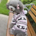 USA Puppy Dog Cat Pet Jumpsuit Pajamas Warm Jacket Coat Hoodie Costume Clothes