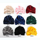 Winter Knotted Headband Kids Girls Turban Hat Toddler Baby Hair Band Headwear