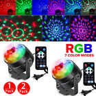 2xRGB Party Disco Lights Ball Sound Activated Strobe Led DJ Bulb Dance Lamp 2019
