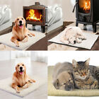 Self Heating Pet Dog Cat Bed Cushion Pad Thermal Soft Warm Mat Blanket Washable