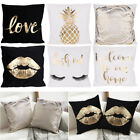 2 Pack/Lot Cozy Soft Velvet Couching Pillow Case Sofa Throw Waist Cushion Cover