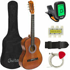 BCP 38in Beginner Acoustic Guitar Musical Instrument Kit w/ Case, Strap, Tuner <br/> Free Shipping!