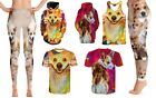 Pooch design on leggigns t-shirt hoodies tank top matching package (4 pieces)