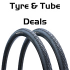 Wide 700c Hybrid Bike Slick Tyre Vandorm 700 x 45c Express City Town Tyre