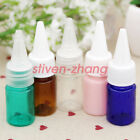 Wholesale 5ml Plastic Twist Cap Dropper Bottles For Essential Oil Perfume PET