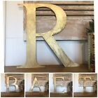 Gold Metal Letters Home Shop Words Vintage Rustic Sign Christmas Decoration