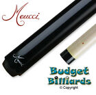 Meucci Black Pool Cue w/ Red Dot shaft with Tip Upgrade & Case  - In Stock $353.87 CAD on eBay