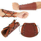 Cow Leather Archery Arm Guard Recurve Bow String Lace up Shooting Protector USA!