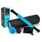 Large Size Foam Roller 5 in 1 Kit Muscle Roller Massage Stick For Balls Grid Gym