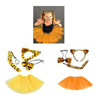 Kyпить Tiger Kostüm Mädchen Damen Verkleiden Fasching Karneval Dress Up Halloween  на еВаy.соm