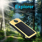 E36C Portable Strong LED Lamp Solar Power Charger With Compass For Phones IPad