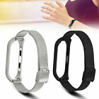 Milanese Loop Stainless Steel Wrist Band Strap Bracelet for Xiaomi Mi Band 3 image
