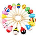 Colorful Baby Kid Wooden Sound Music Gift Toddler Rattle Musical Intelligent Toy