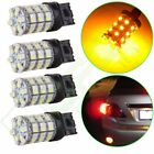 Super White Front Turn Signal 60 3528 SMD T20 HID LED Light 7443 7440 Bulbs