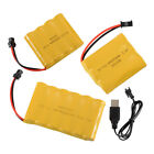 3.6V/4.8V/7.2V 800mAh Rechargeable Ni-Cd AA Battery USB Cable for Toys Electric