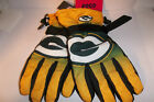 Green Bay Packers NFL Winter Gloves Tailgate Game Mens Sz LARGE XLARGE Insulated