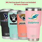 NFL yeti cup decal sticker for YETI Rambler Tumbler Cup mug wine glass car $3.5 USD on eBay