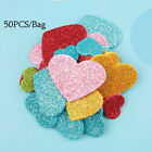 Heart Shapes Star Birthday Stickers Wedding Decoration Foam Glitter Party