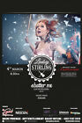 """LINDSEY STIRLING """"SHATTER ME"""" 2015 MALAYSIAN CONCERT TOUR POSTER - Electronic"""