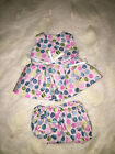DOLL CLOTHES 4 BABY ALIVE SUN DRESS W/PANTIES BITTY BABY white w angel bears