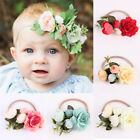 Baby Girls Children Flower Headband Kid Elastic Hairband Soft Headwear Hair Rope