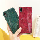 Glossy Glitter Gold Foil Marble Phone Case For iphone X XS Max XR 6 6S 7 8 Plus