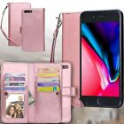 i Phone XS Max XR X 8 7 Plus Luxury Magnetic Leather Removable Wallet Case Cover