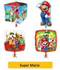 SUPER MARIO Bros FOIL BALLOONS - Kids SuperShape Birthday Party Nintendo (1C)