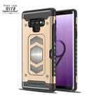 Hybrid Rugged Heavy Duty Magnetic Card Case Cover Samsung Note 9 S9 S8 UK
