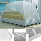 Folding Insect Mongolia Bed Mosquito Net 2 Doors Bedding Netting Queen King Size image