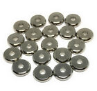 stainless steel flat beads 10mm x 2.5mm