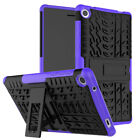 "Heavy Duty Shockproof Protective Case Cover Stand For  LenovoTab 3 7""/  Tab 4"